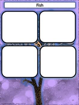 Vertebrates Sorting Cards Activity- Elementary Levels 1-5