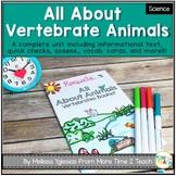 Classifying Animals: Vertebrates Unit {Great for Interacti