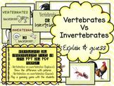 Vertebrates Vs Invertebrates PPT Guess/Explain