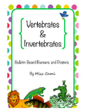 Vertebrates and Invertebrate Animals
