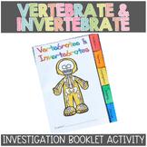 Vertebrates and Invertebrates: Animal Classification Tabbed Booklet