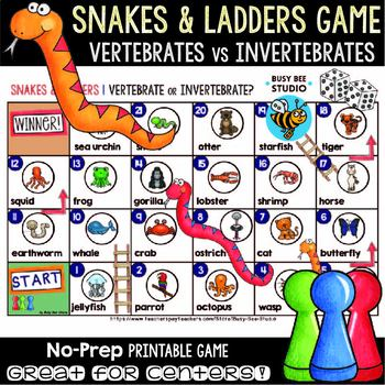Vertebrates and Invertebrates Game