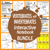 Vertebrates and Invertebrates Interactive Bundle (33 Animal Adaptations Lessons)