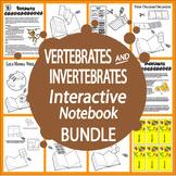 Vertebrates and Invertebrates 4th Grade Science Interactive Bundle – 33  Lessons