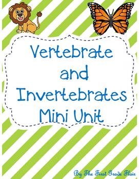 Vertebrates and Invertebrates Mini Unit