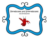 Vertebrates and Invertebrates Pack