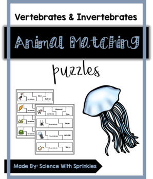 Vertebrates and Invertebrates Puzzles