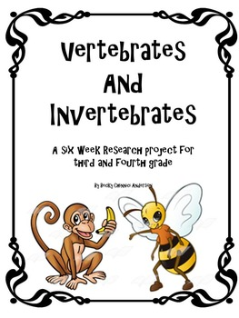 Vertebrates and Invertebrates Science project - Completely Editable!