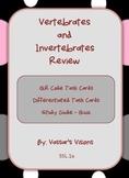 Vertebrates and Invertebrates Task Cards