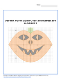 Vertex Form Computer Animated Art