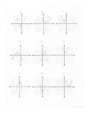 Vertex form of Quadratic Functions Matching