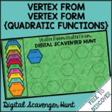 Vertex of Quadratic Functions (from Vertex Form) Digital S