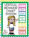 Vertical Behavior Chart System-Polka Dot
