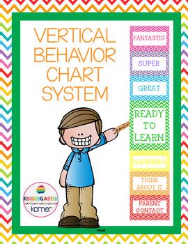 Vertical Behavior Chart System- Chevron