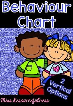Vertical Classroom Behaviour Chart