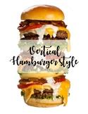 Vertical Hamburger Poster