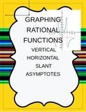 Vertical Horizontal Slant Asymptotes of Rational Functions