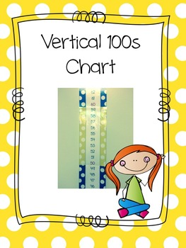 Vertical Hundreds Chart