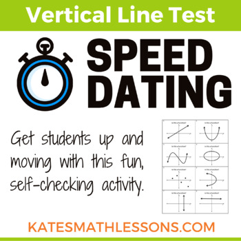 Vertical Line Test Fun Speed Dating Activity