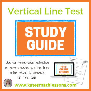 Vertical Line Test Study Guide