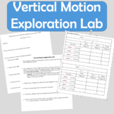Vertical Motion Exploration Math Lab - Discovering through Inquiry