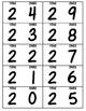 Vertical Number Line 0-100