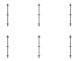 Vertical Number Line Template