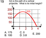 Vertical Projectiles for 9th and 10th Grade, Study Guide + 5 Assignments for PDF