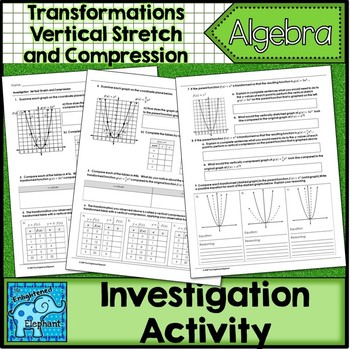 Vertical Stretch and Compression of Functions Investigation