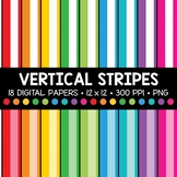 Vertical Stripe Digital Paper
