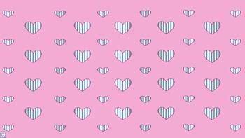 Vertical Stripe Heart Backgrounds!