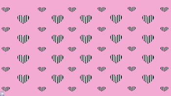 Vertical Stripe Heart Backgrounds!