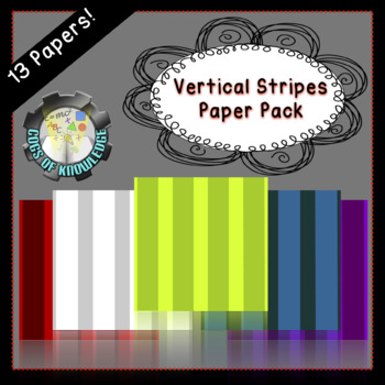 Vertical Stripes Paper Pack