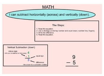 Vertical Subtraction