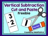 Vertical Subtraction Freebie