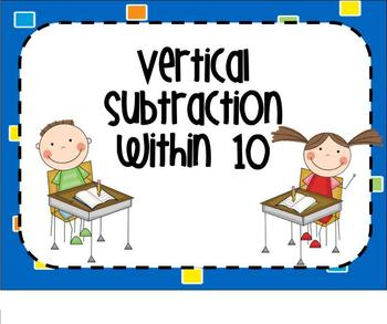 Vertical Subtraction SMARTBoard Lesson