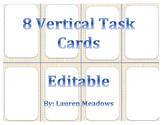 Vertical Task Cards (8)