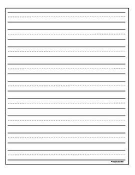 Vertical Writing Paper