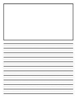 Vertical Writing Template
