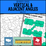 Vertical and Adjacent Angles