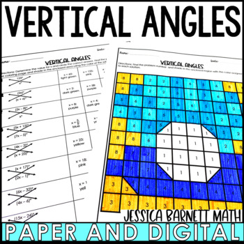 Angles Coloring Worksheets Teaching Resources Tpt