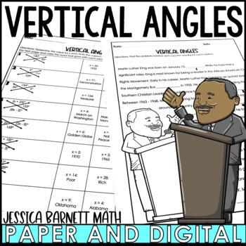 Vertical Angles Mistory Lib Activity