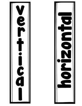Vertical and Horizontal Door Sign Freebie!