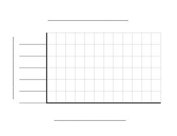 vertical bar graph template by david grieves teachers pay teachers
