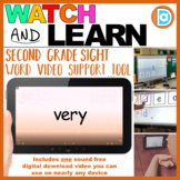 Very | 2nd Grade Sight Word Building Video | 4 Letter Word