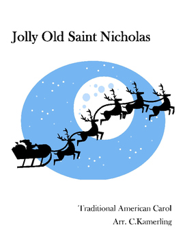 Very Beginning Band Arrangement - Jolly Old Saint Nicholas