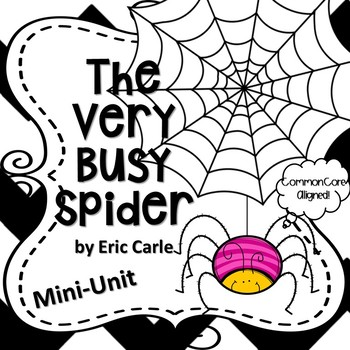 the very busy spider activities teaching resources teachers pay