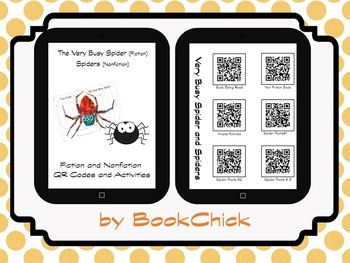 Very Busy Spider and Nonfiction Spider Pack