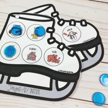 Apraxia of Speech | Winter Speech Therapy | Winter Speech and Language Activity