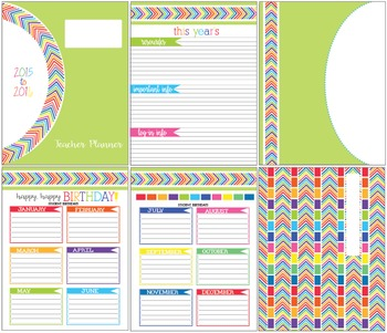 Very Colorful Planner